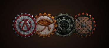 Faction Logos | Return of the Gods